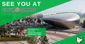 See you at Casual Connect Asia