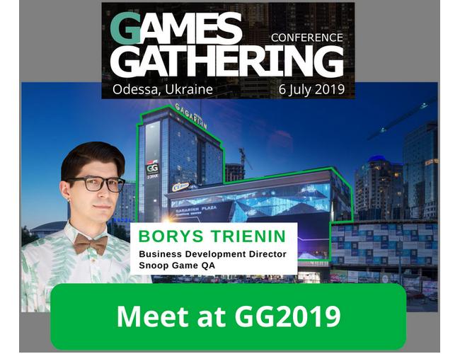 SnoopGame Games Gathering 2019