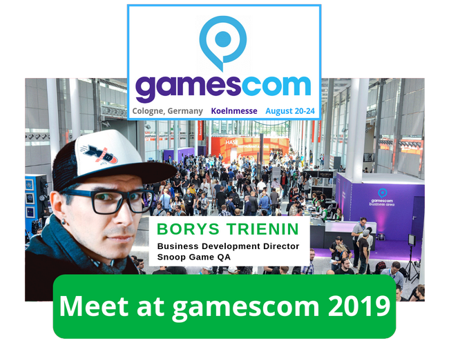 SnoopGame gamescom 2019